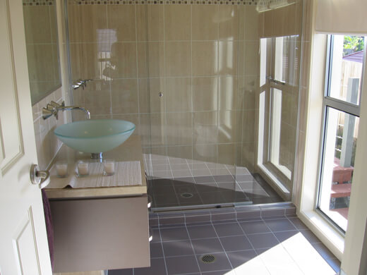 Bathroom renovation, Carrara 4211